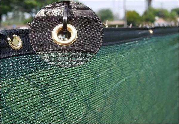 Green 1m x 5m 80/% Shade Netting Windbreak Fabric Privacy Sceening Garden Net